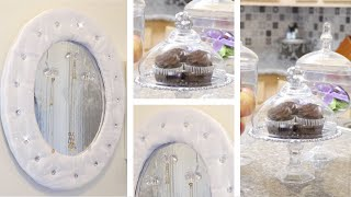 DOLLAR TREE DIY JEWELRY HOLDER AND CUPCAKE STAND!  FEBRUARY 7 2019