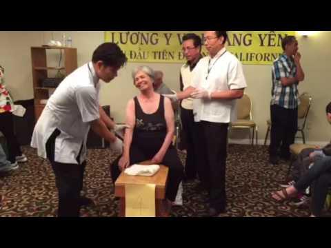 Than Y Vo Hoang Yen, Thay Cuong chữa bịnh Sim 052216 A