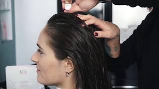 Kaaral Hair Care K05 трихологическая процедура против выпадения волос.(полная версия)