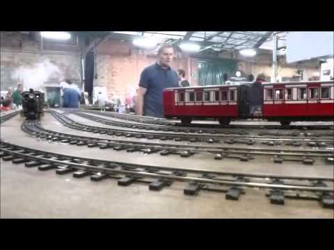 Elsecar Garden Railway Show 2015 with SLR