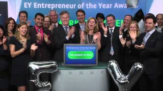 EY Entrepreneur of the Year Awards opens Toronto Stock Exchange, October 1, 2015