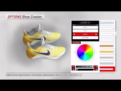 How Create De Aaron Fox Dragonball Z Kobe A.D.in NBA 2K18 - YouTube db00b2106