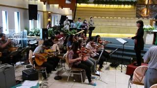 Nyanyian Jemaat  (NKB 125) & Berkat; Postlude - GKI Surya Utama.