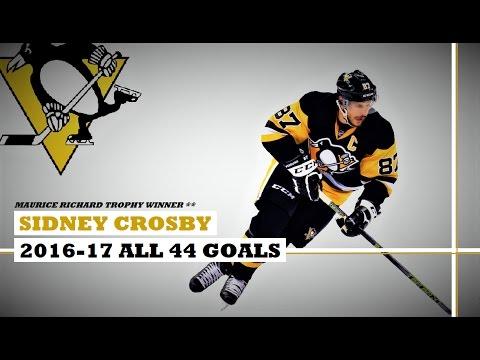 Sidney Crosby (#87) ● ALL 44 Goals 2016-17 Season (HD)