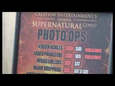Supernatural TV Show Convention • Jacksonville, Florida. Prices 2017
