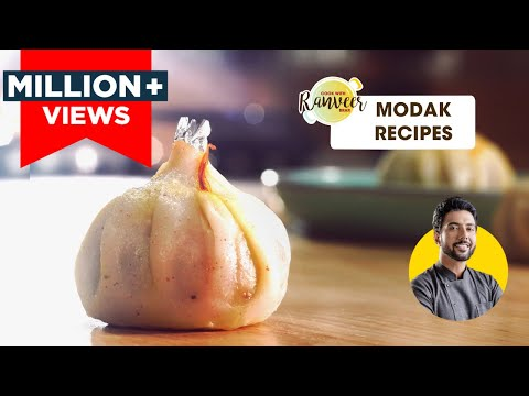 Ganesh Chaturthi Special Modak recipes | उकडीचे मोदक | Chocolate Modak | Chef Ranveer Brar
