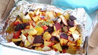 Roasted Root Vegetables (fall Recipe)