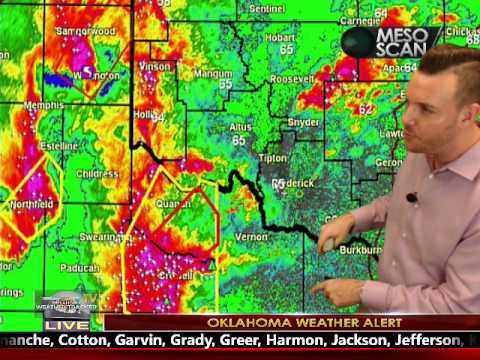 LIVE Oklahoma Severe Weather Coverage March 29, 2017