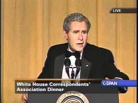 Steve Bridges as President George W. Bush at WHCA Dinner 2006