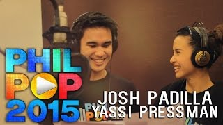 Edge of the World - Josh Padilla and Yassi Pressman (Official Lyric Video Philpop 2015)