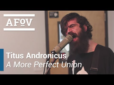 """Titus Andronicus - """"A More Perfect Union"""" A Fistful of Vinyl sessions (KXLU 88.9 FM Los Angeles)"""