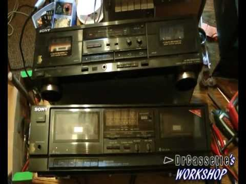 DrCassette's Workshop - Double Double Cassette Deck Repairs