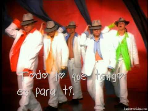 Backstreet Boys All I Have To Give (traducida al español)