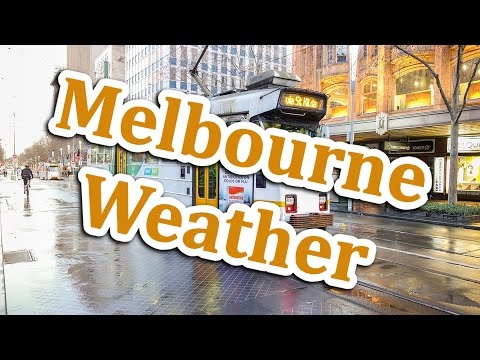 Walking With Pete: Melbourne Weather | Learn Australian English