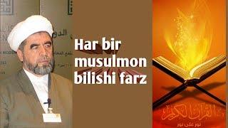 Qur On O Qing Shayh Muhammad Sodiq Muhammad Yusuf