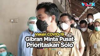 Gibran Minta Pemerintah Pusat Prioritaskan Solo untuk Dapat Vaksin COVID-19
