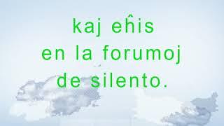 THE SOUND OF SILENCE Simon   Garfunkel   Esperanto cover LA SONO DE SILENTO