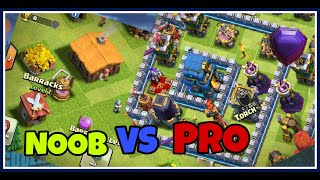 CLASH OF CLANS | NOOB VS PRO | FUNNY GAMEPLAY |