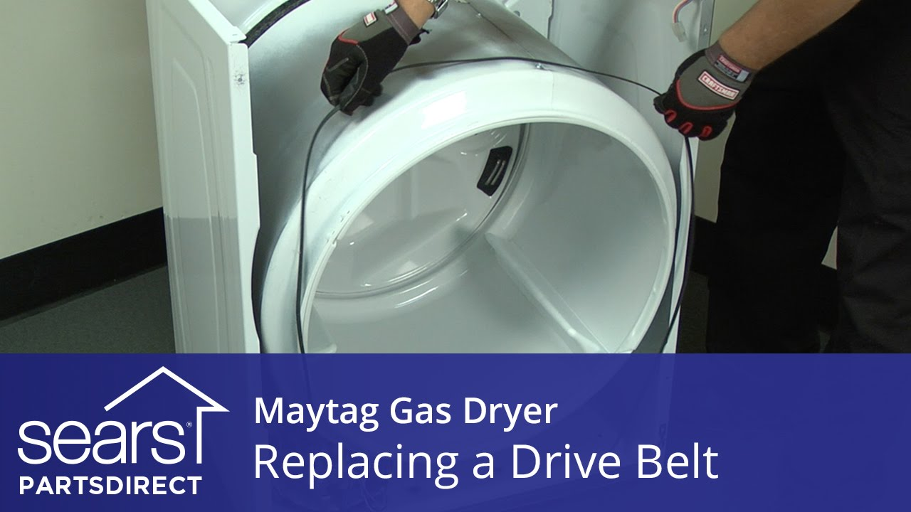 How To Replace A Maytag Gas Dryer Drive Belt Youtube Wiring 4 Wires 3 Wire Plug Electrician Talk