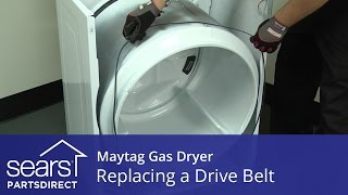 How to Replace a Maytag Gas Dryer Drive Belt
