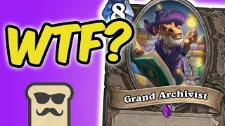 KELESETH DRAGON PRIEST IS AMAZING! (w/ GRAND ARCHIVIST) | KOBOLDS AND CATACOMBS | HEARTHSTONE