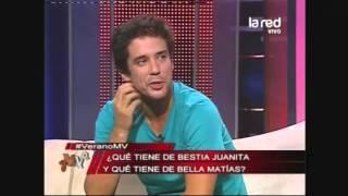 Los actores y pololos Juanita Ringeling y Matías Oviedo comentan sus defectos y virtudes