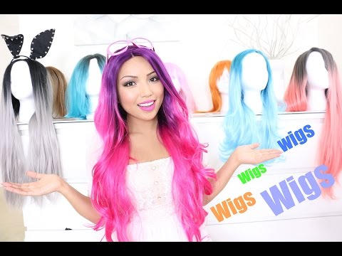 My Massive WIG Collection  ♥