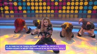 Baixar Joelma e seus bailarinos agitam a plateia do Hora do Faro