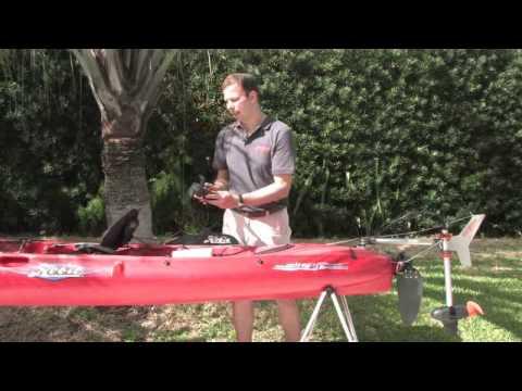 Torqeedo Ultralight 401 Electric Kayak Motor Youtube