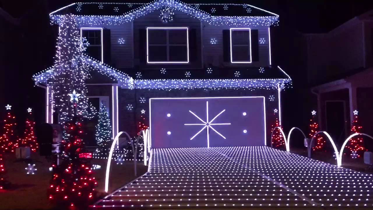 Best Christmas Lights Ever!!! - YouTube