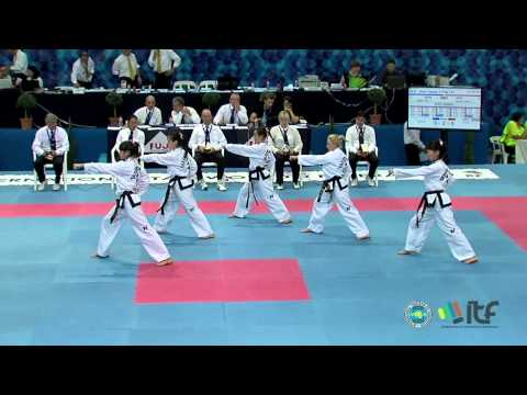 ITF Taekwon-Do Team Patterns