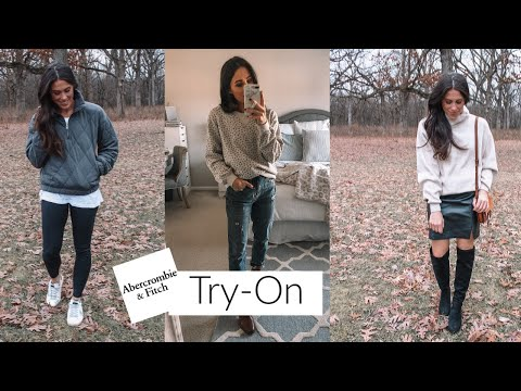 Abercrombie Try-ON HAUL!