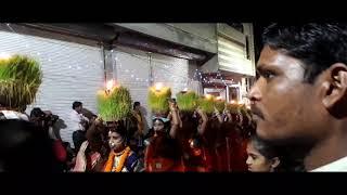 Jawara visarjan Champa samleshwari Mandir