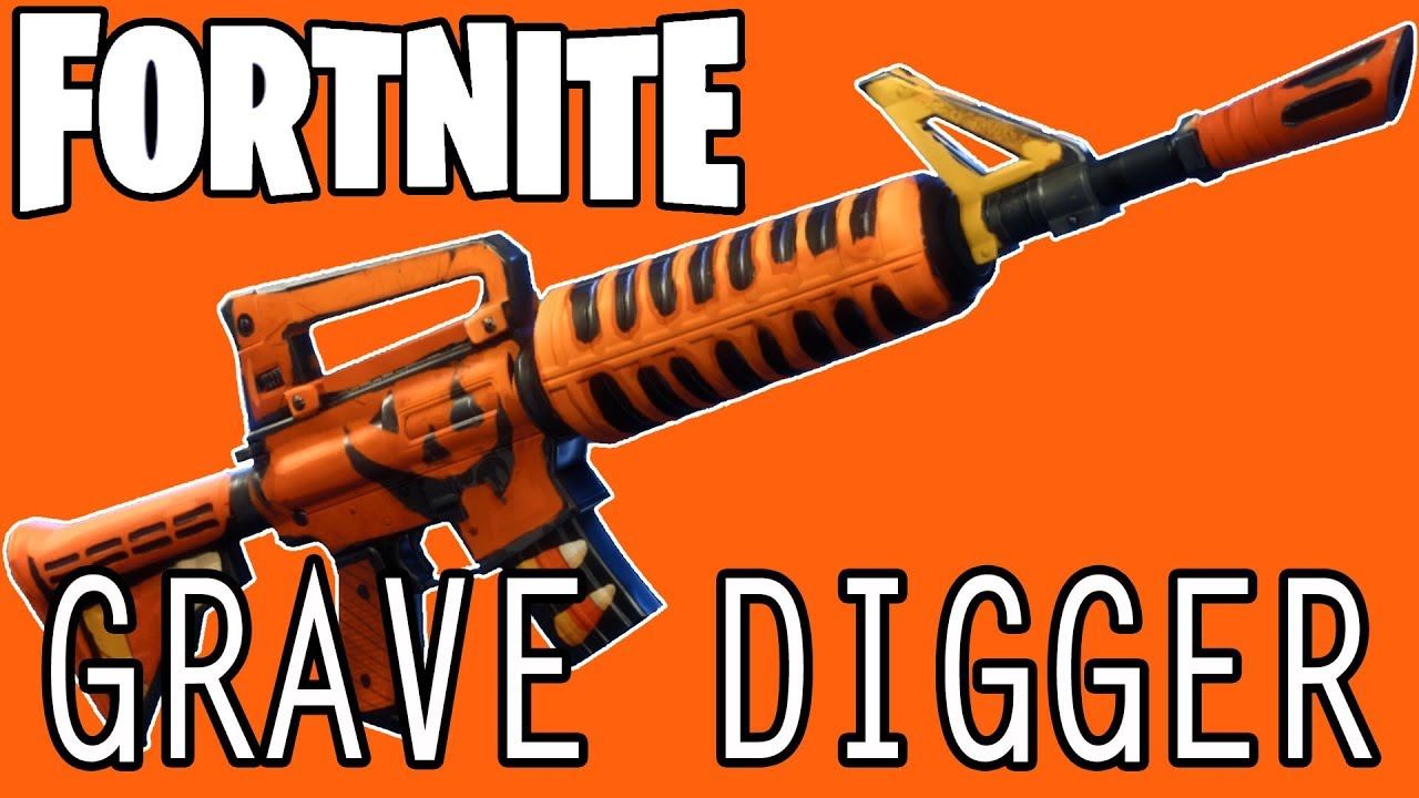 The Most Complete Grave Digger Weapons Guide In Fortnite U4gm Com