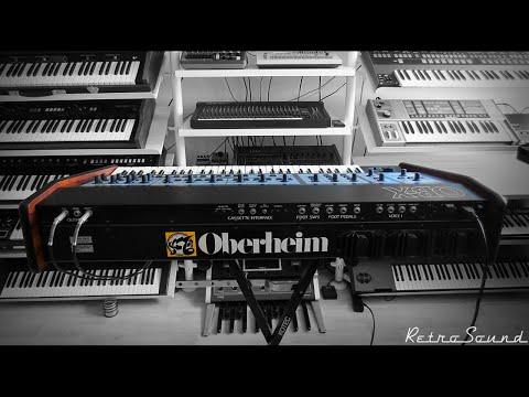 Oberheim OB-X Analog Synthesizer (1979)  *SilkyWay*  The soft side of the synth beast