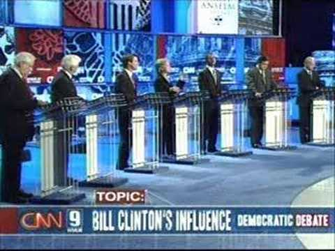 2007 NH Democratic Presidential Debate (Part 10)