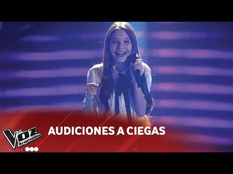 Valentina Madanes - 'Love on the brain' - Rihanna - Audiciones a Ciegas - La Voz Argentina 2018