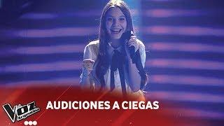 "Valentina Madanes - ""Love on the brain"" - Rihanna - Audiciones a Ciegas - La Voz Argentina 2018"