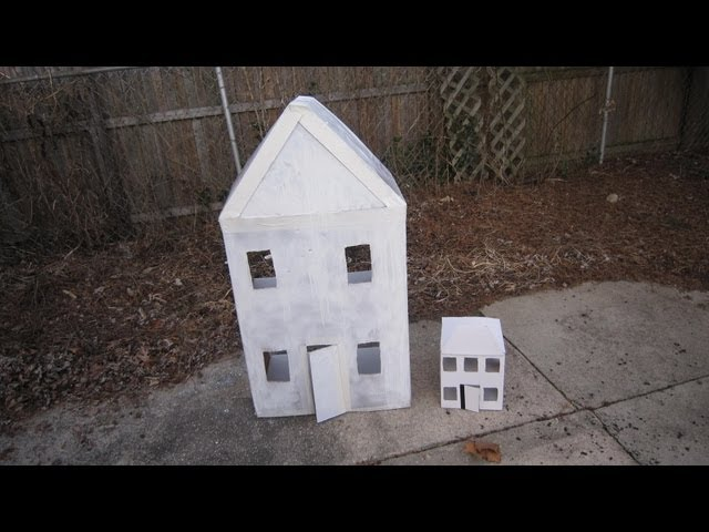 How to Build a Cardboard House (with Pictures) - wikiHow