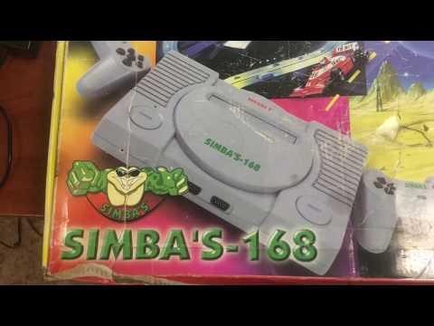 Игровая приставка Simbas 168, или клон Sega 16 Bit