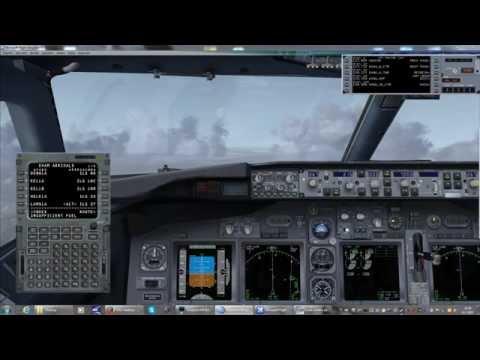 FSX Innsbrück - Amsterdam (LOWI EHAM) IVAO Network Flight