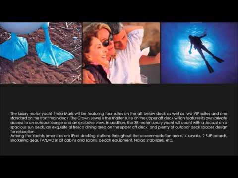 Stella Maris Luxury Yacht - Galapagos, Presentation.