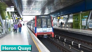 london dlr heron quays b92 stock