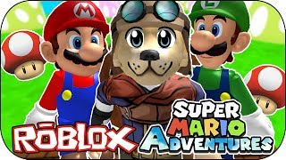 ROBLOX - Challenge 5 deaths! - Super Mario World Adventure Obby