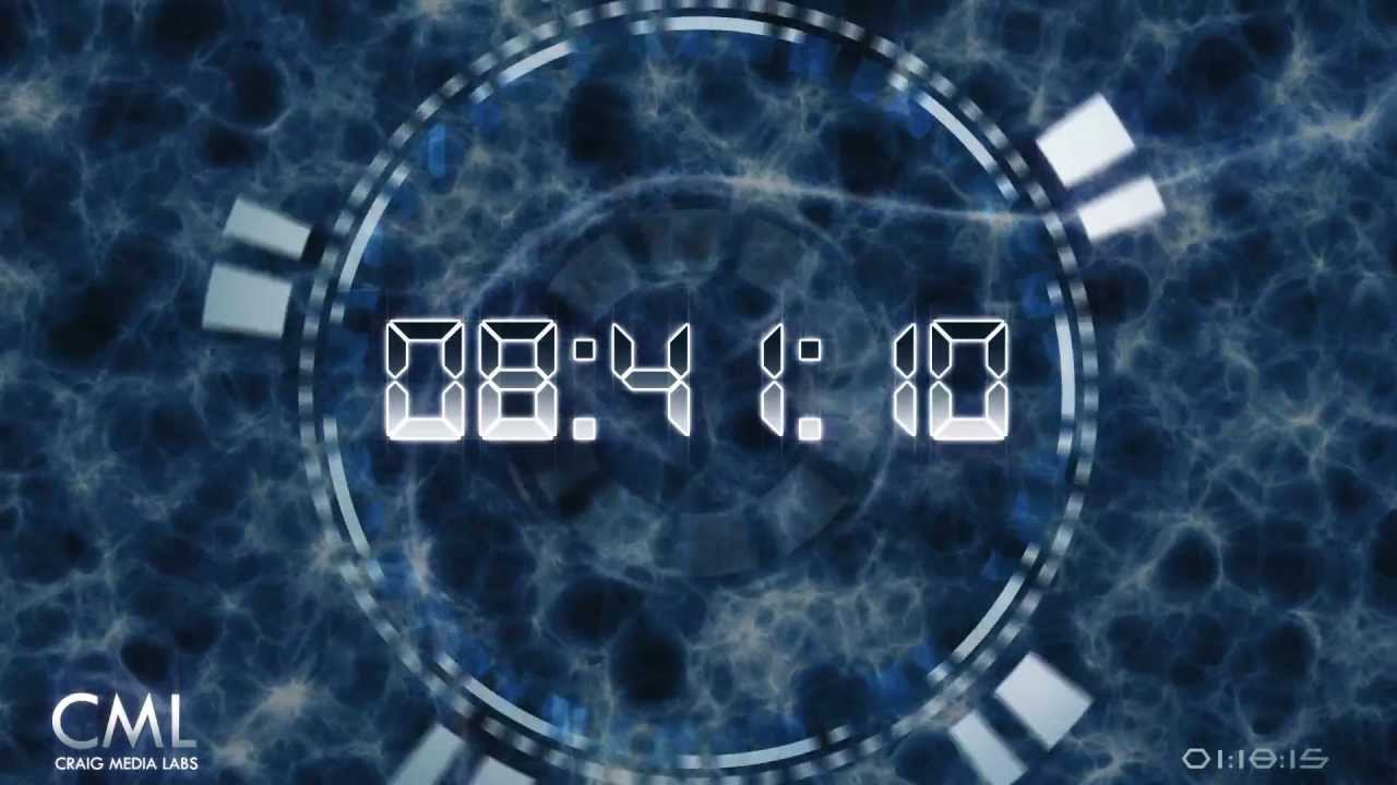Ten Minutes Deluxe Countdown With Sound FX & Voice ⏰