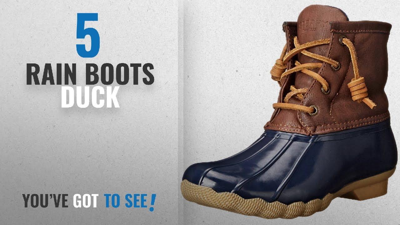 c50ef510f55 Top 5 Rain Boots Duck  2018   Sperry Saltwater Rain Boot (Little Kid ...