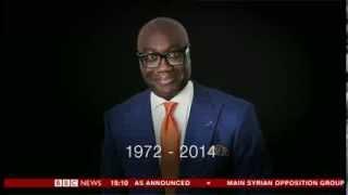 BBC News - Death of Komla Dumor (first report)