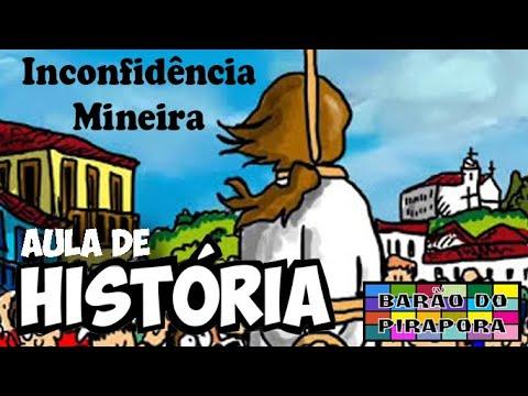 Aprendendo com Videoaulas: História: Inconfidência Mineira