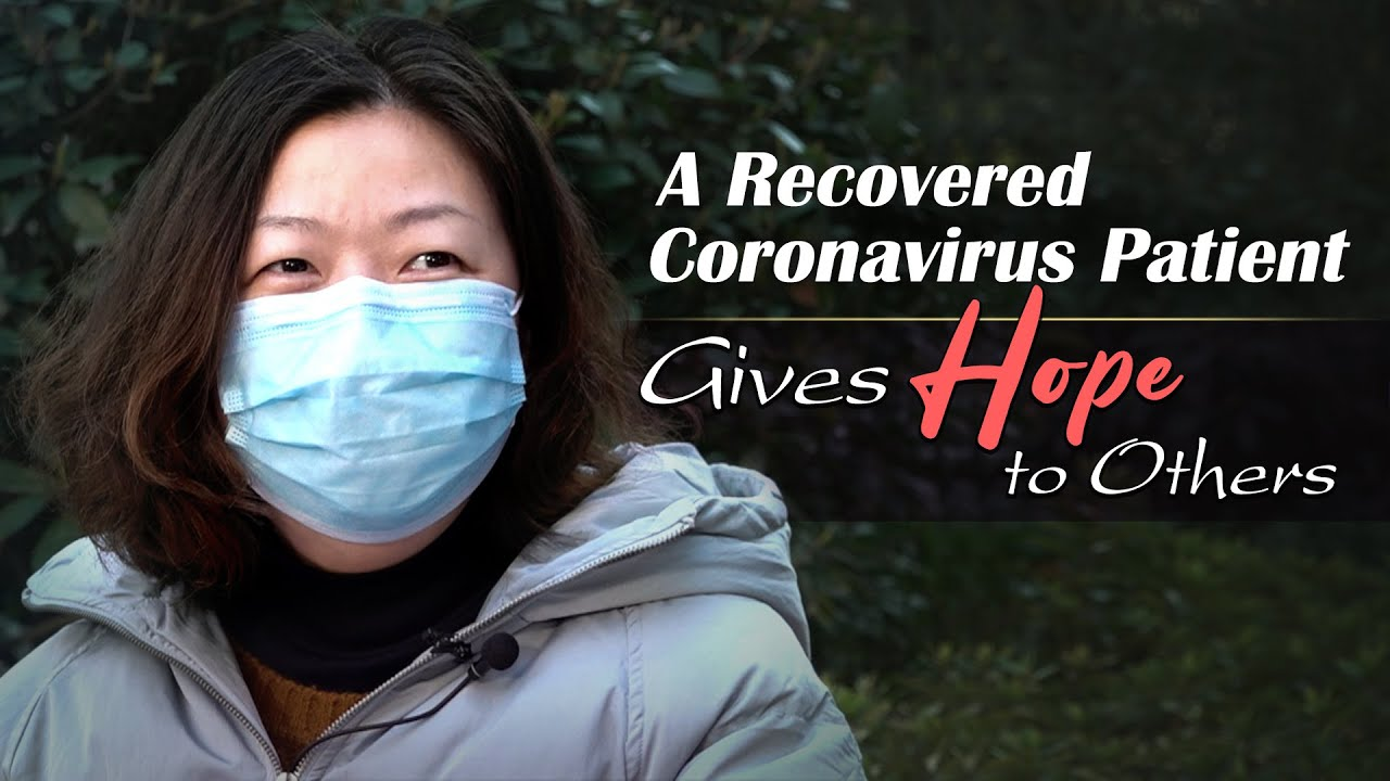 A recovered coronavirus patient gives hope to others by donating her plasma