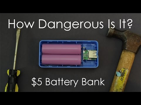 $5 Battery Bank Teardown!